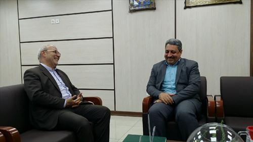 ⭕️جلسه آقای حاجی با مدیرکل جدید دیوان محاسبات استان اصفهان