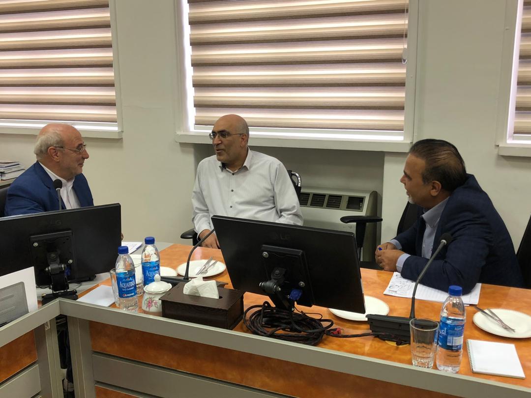 ⭕️جلسه آقای حاجی با دکتر امیدعلی پارسا رئیس کل سازمان امور مالیاتی کشور برگزار شد.