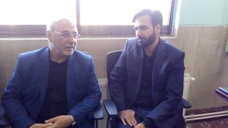 دیدار با سید نصر الدین صالحی دادستان جدید عمومی و انقلاب شاهین شهر