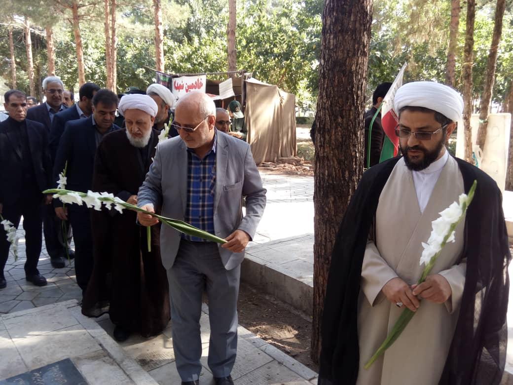 مراسم استقبال از حجتالاسلام والمسلمین هاشمی امام جمعه جدید شاهین شهر