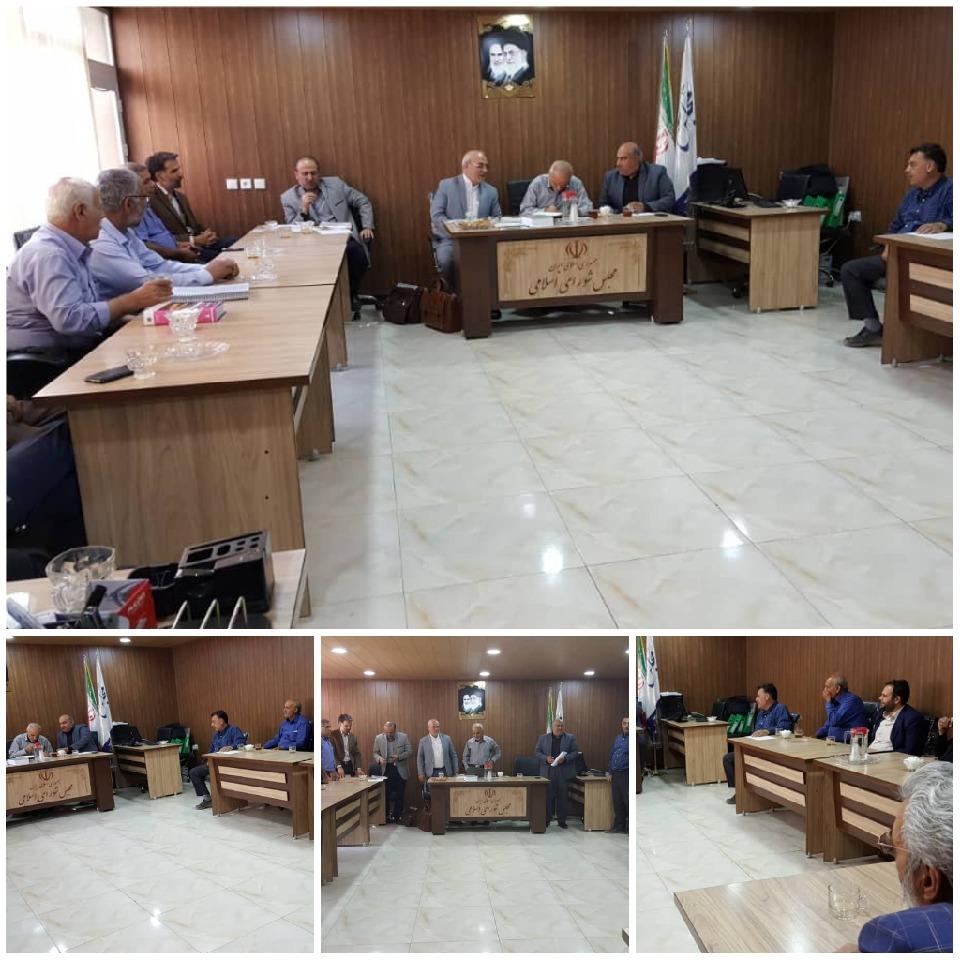 جلسه سرمایه گذاری و رفع موانع تولید/کمیسیون تخصصی مشورتی کشاورزی/جلسه توسعه ناحیه صنعتی کمشچه