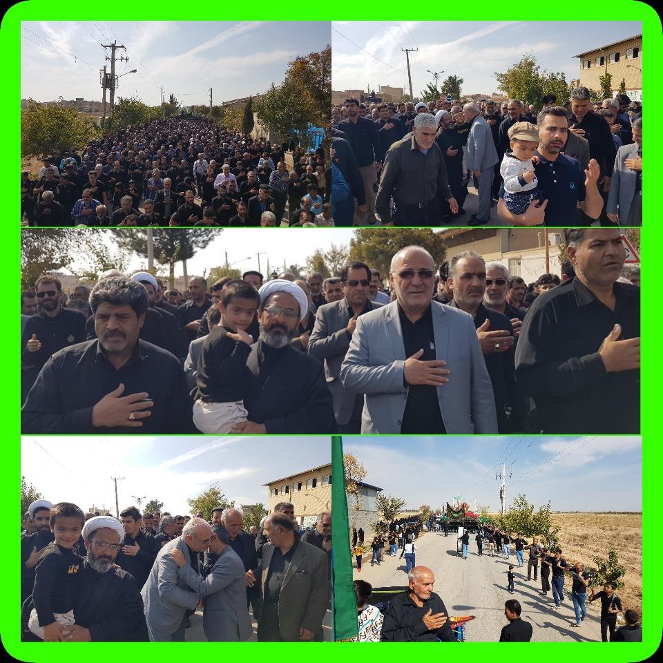 ↙️حضور آقای حاجی در مراسم جاماندگان پیاده روی اربعین و سخنرانی در یادواره شهدای کربکند