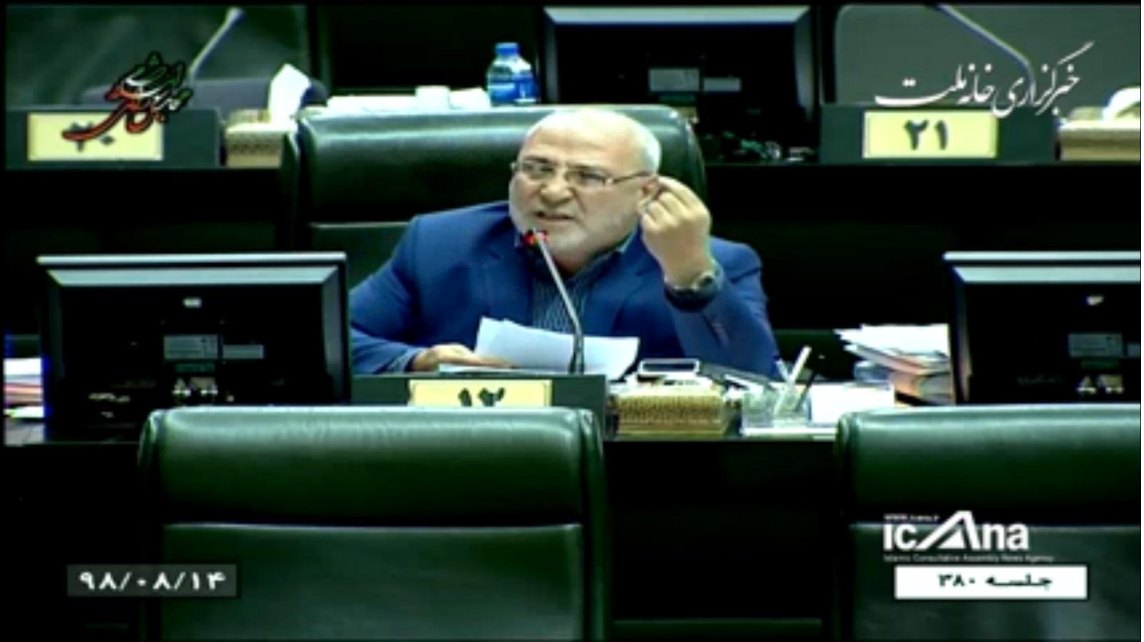 آقای حاجی موافق رد کلیات طرح تقلیل مجازات حبس تعزیری