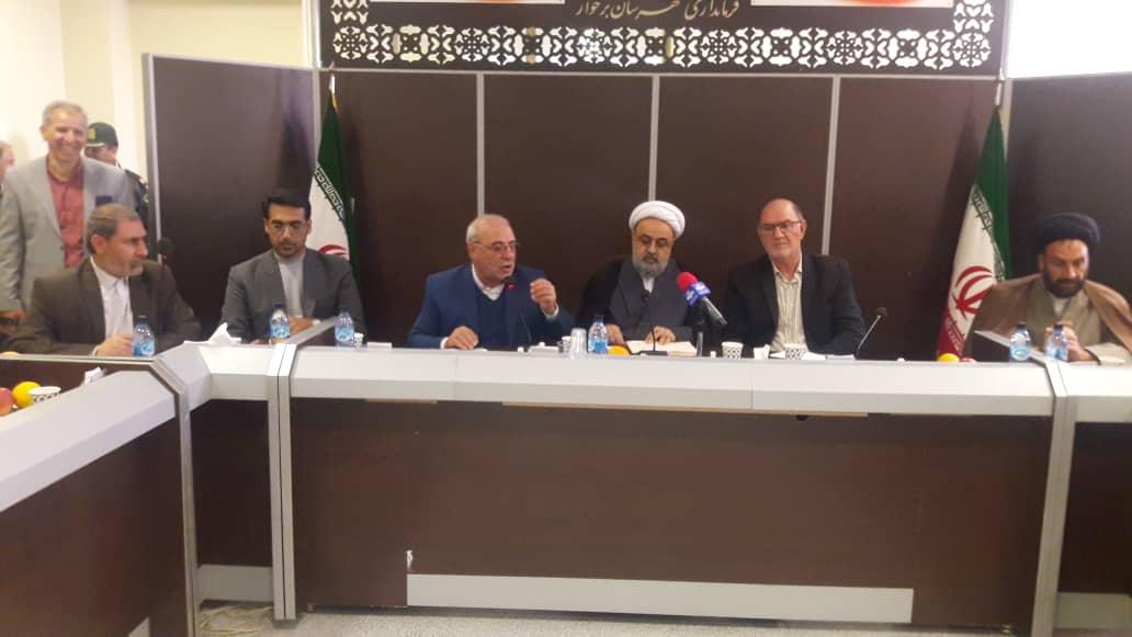 شورای اداری شهرستان برخوار- تشریح بخشی از دغده های مردم در حوزه قضائی در حضور معاون دستگاه قضا