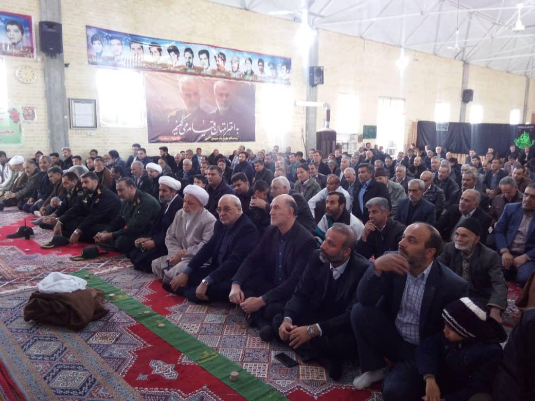 ✅ حضور در مراسم معارفه امام جمعه محترم کمشچه و ملاقات مردمی بخش میمه