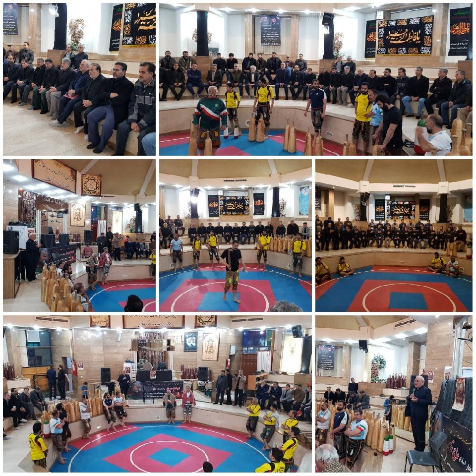 💠هم اکنون حضور و سخنرانی آقای حاجی در زورخانه ذوالفقار شاهین شهر
