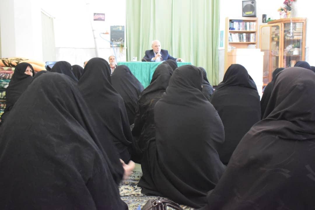 دیدار انتخاباتی آقای حاجی با جمعی از بانوان انقلابی حبیب آباد