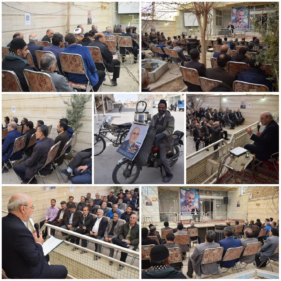 حاجی در اجتماع جمعی از بازنشستگان نیروهای مسلح دولت آباد: