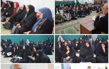 حاجی درجمع طرفدارانش درمحله گلدیس شاهین شهر: