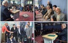 حمایت قاطع هنرمندان تعزیه دولت آباد از خادم مردم