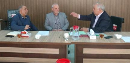 گفتگوی آقای حاجی با مدیر عامل شرکت ملی پخش فرآوردههای نفتی ایران برای حل مشکل کمبود کپسول گاز مایع