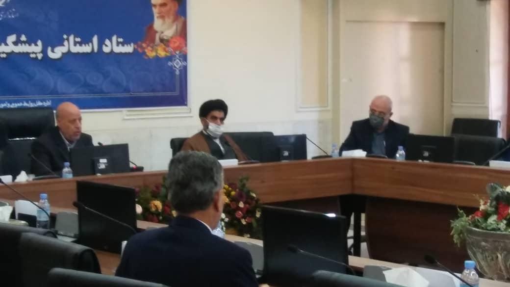 ستاد استانی پیشگیری بیماری ناشی از ویروس کرونا با حضور آقای حاجی در استانداری اصفهان برگزار شد