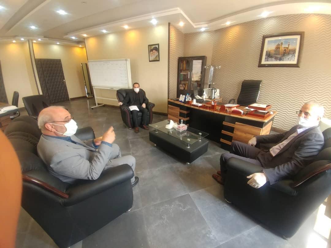 دیدارآقای حاجی با رئیس جدید سازمان هدفمندسازی یارانه ها