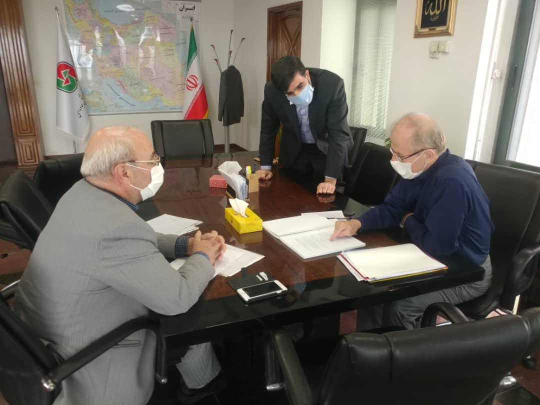 آقای حاجی یکشنبه ۱۴ اردیبهشت ماه ۹۹با رئیس سازمان راهداری کشور دیدار و گفتگو کرد