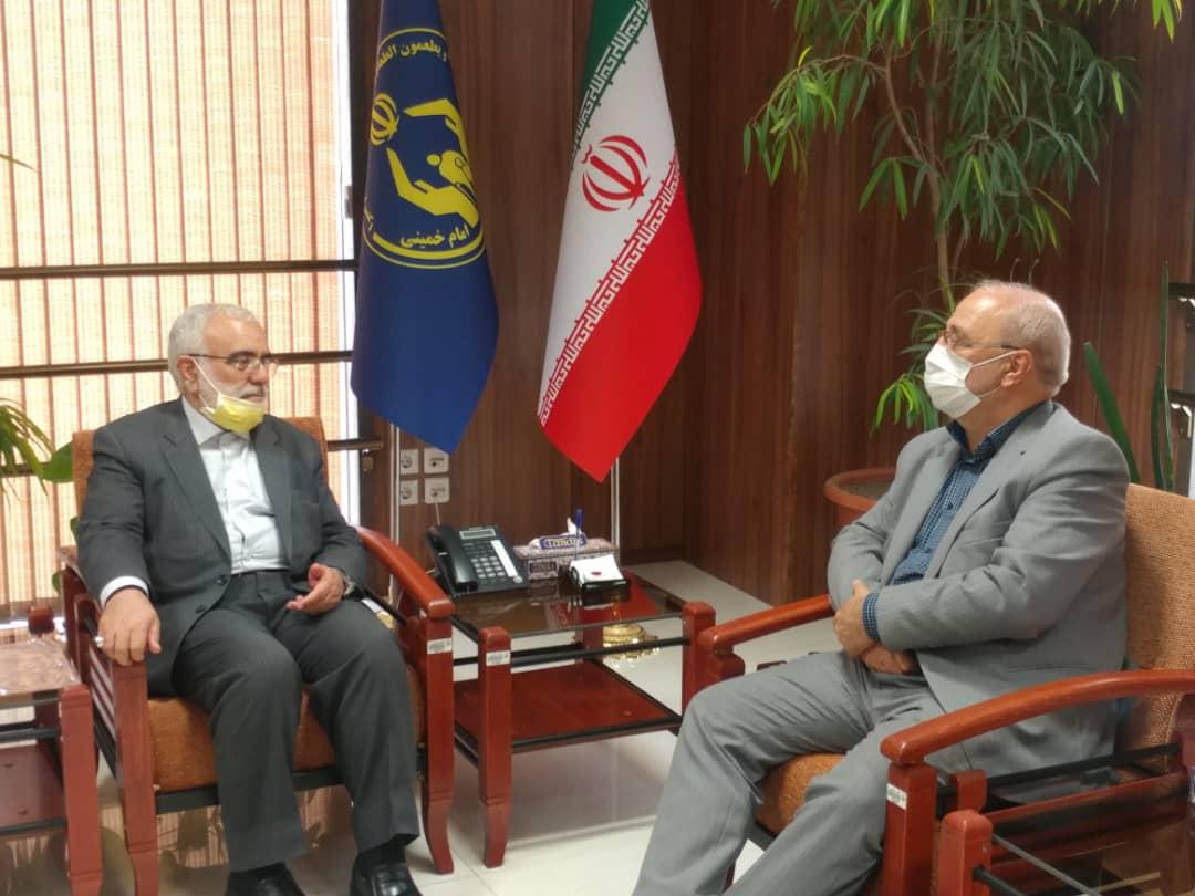 دیدار و گفتگو با سید مرتضی بختیاری رئیس کمیته امداد امام خمینی (ره)