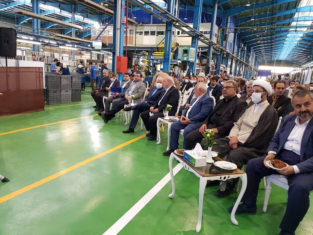 بازدید و افتتاحیه در گروه صنعتی انتخاب