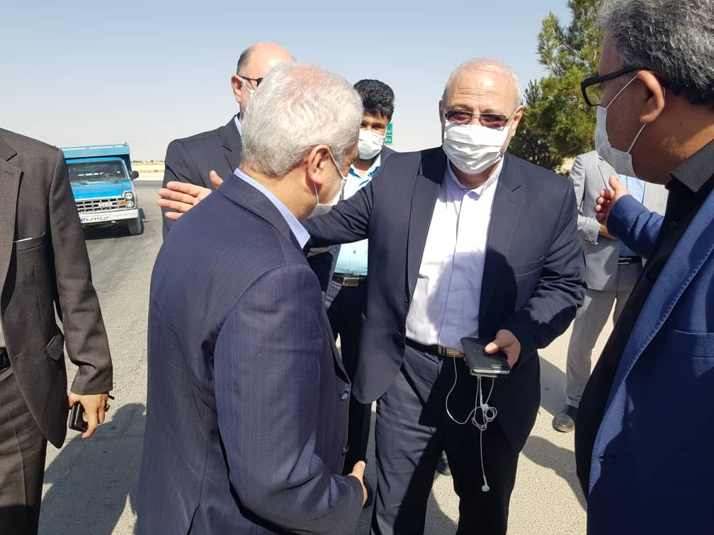 استقبال آقای حاجی از معاون وزیر صنعت معدن و تجارت
