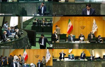 گزارش تصویری از جلسه علنی روز چهارشنبه مجلس شورای اسلامی