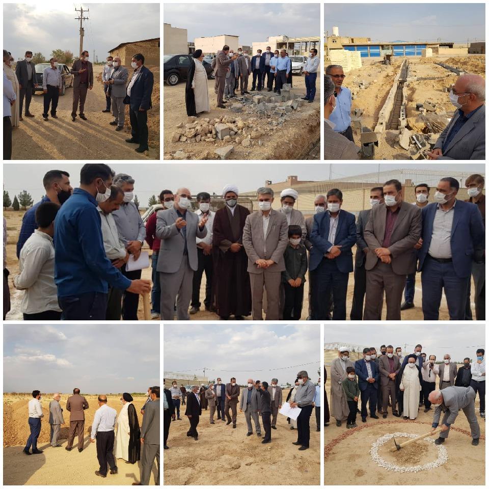 عملیات اجرایی ساخت زورخانه گرگاب به دست  آقای حاجی آغاز شد