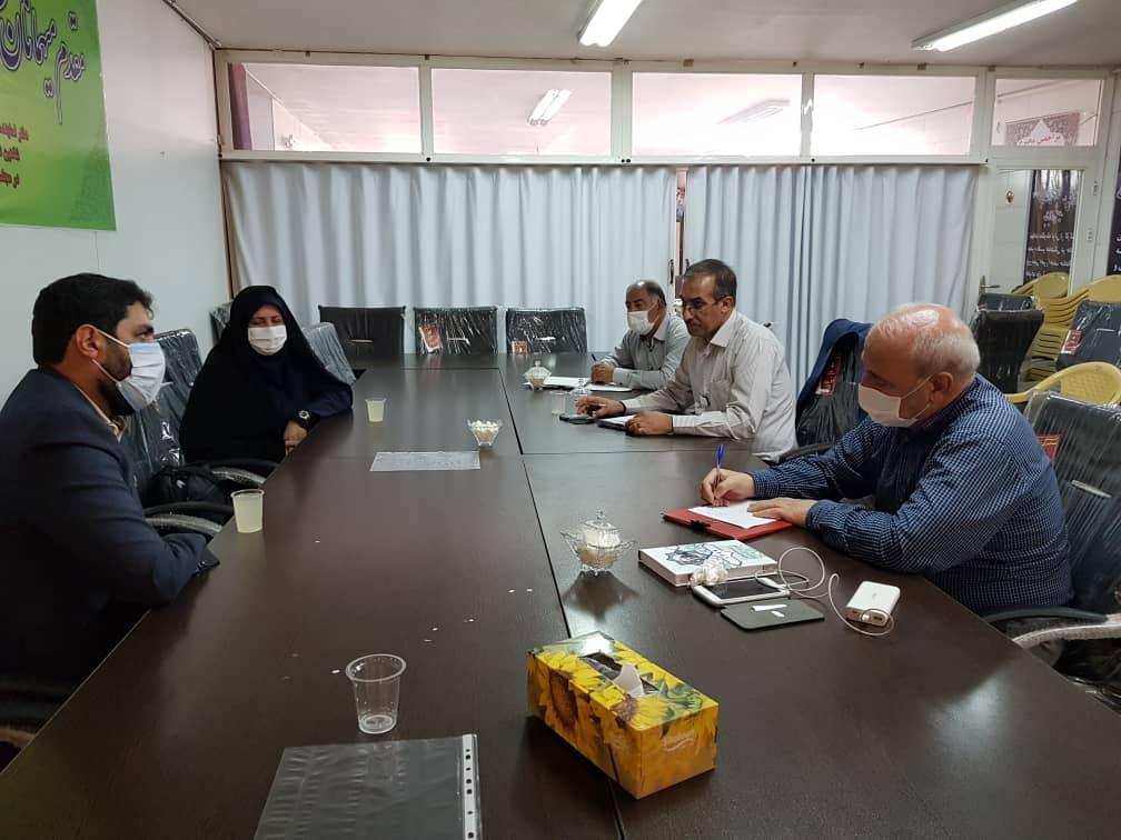دیدار آقای هلاکویی مدیر کل نهاد کتابخانههای عمومی استان اصفهان با آقای حاجی