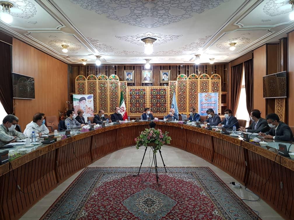 جلسه هماهنگی احداث چند واحد آموزشی در شهرک سیمرغ خورزوق