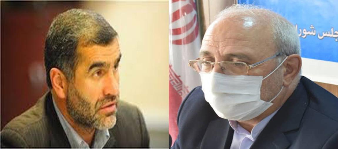 احوالپرسی نواب رئیس مجلس شورای اسلامی از آقای حاجی