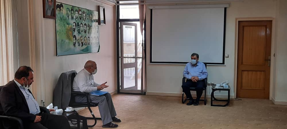 آقای حاجی با دکتر محسن رضایی دیدار و گفتگو کرد