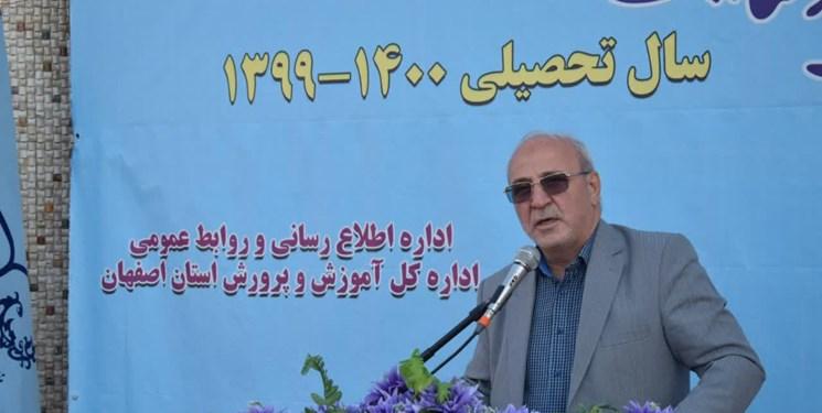 رهاسازی آب مانع خشک شدن ۴ هزار هکتار از مزارع شمال اصفهان