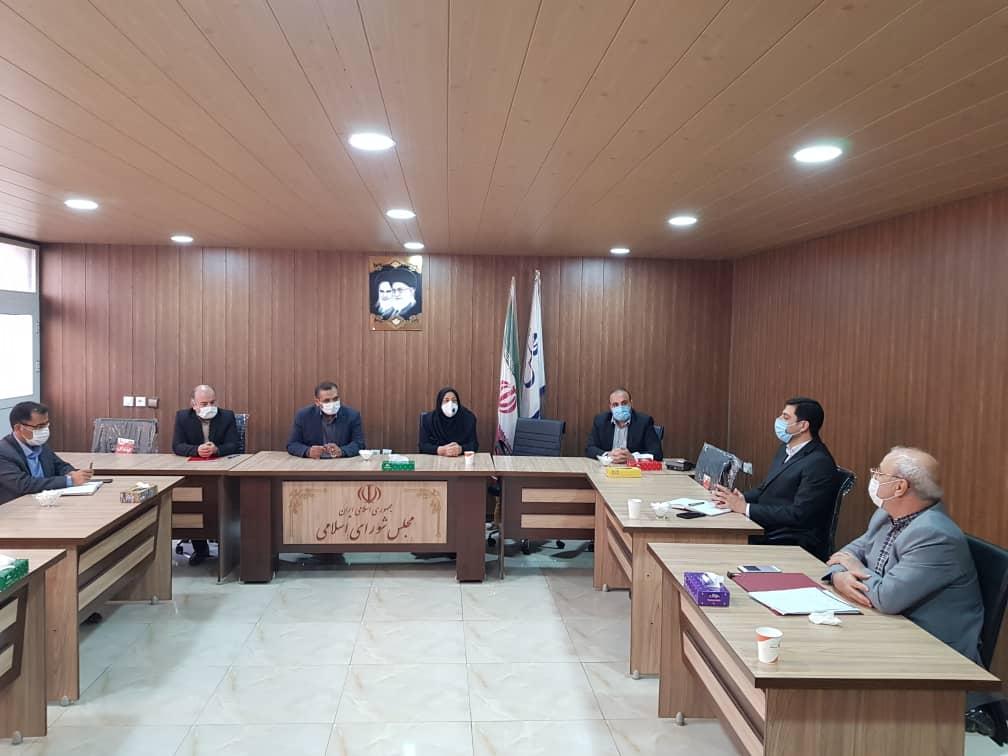 جلسه هماهنگی نوسازی فضاهای آموزشی شهرستان های شاهین شهر و میمه و برخوار