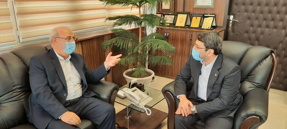 دیدار و گفتگو با قبادی دانا معاون وزیر و رئیس سازمان بهزیستی کشور