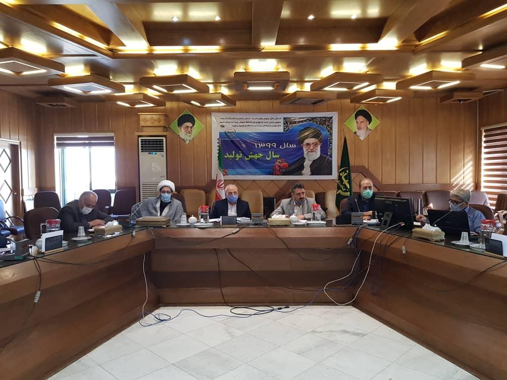 جلسه حل مشکلات تداخلاتی اراضی شهرستان های شاهین شهر و میمه و برخوار
