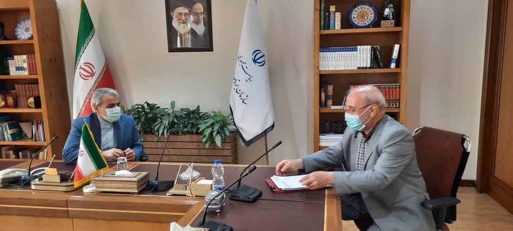 دیدار با محمدباقر نوبخت معاون رئیس جمهور و رئیس سازمان برنامه و بودجه کشور