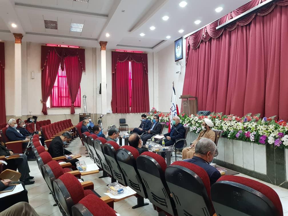 حضور و سخنرانی آقای حاجی در شورای آموزش و پرورش شاهین شهر+فیلم