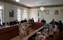 جلسه بررسی وضعیت آب کشاورزی ،خسارت خشکسالی و عدم کشت کشاورزان