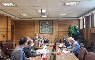جلسه مشترک شهرداری منطقه ۷ اصفهان و شهرداری دولت آباد در حضور آقای حاجی