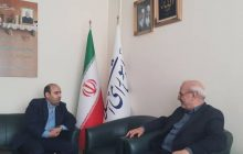 دیدار مدیر عامل شرکت نفت جی با آقای حاجی