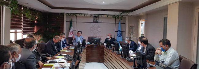 جلسه آقای حاجی با مدیر کل درمان تامین اجتماعی استان اصفهان
